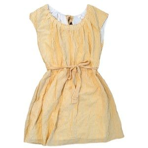 Lauren Conrad Yellow Striped Dress